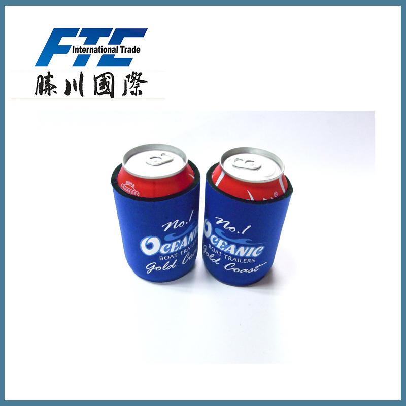 130*105*3mm Custom Neoprene Beer Can Cooler