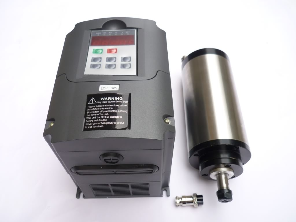 China Spindle Motor For Cnc Router Water Cooling 1 5kw