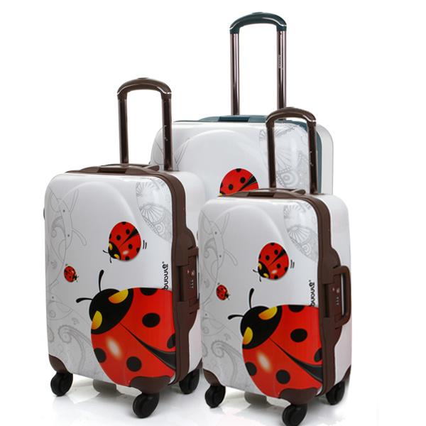 China Fashion Design Pure PC Luggage Set PC Frame Trolley Ppc03-20 ...