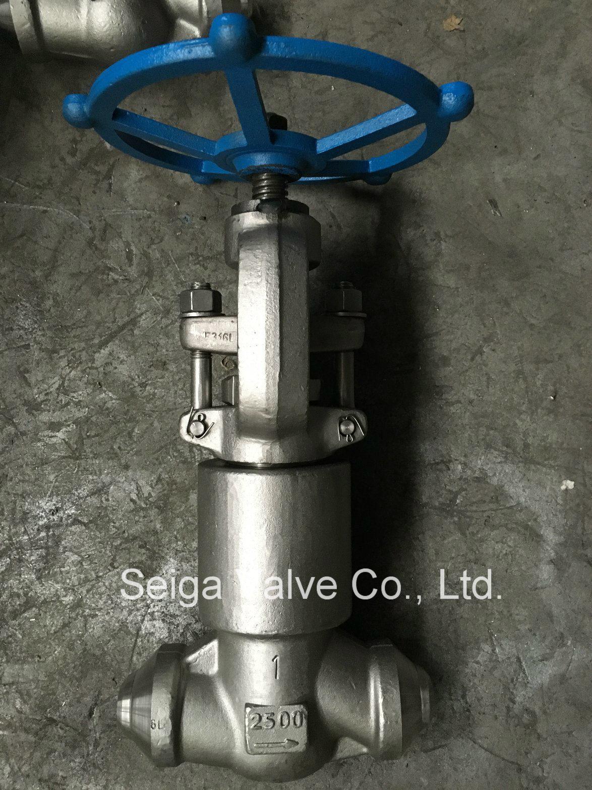Forged Steel High Pressure Welding Stop Valve
