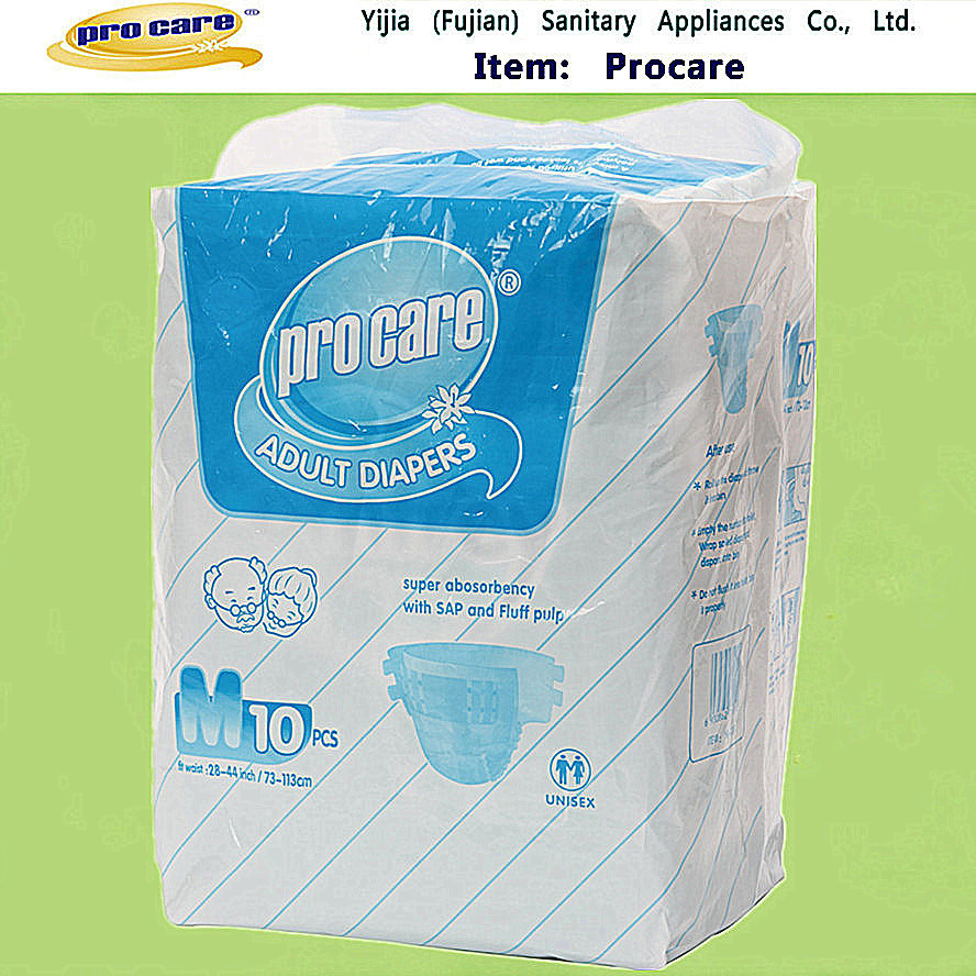 Procare Brand Good Quality Adult Diaper for Adult Disposable (AD03)