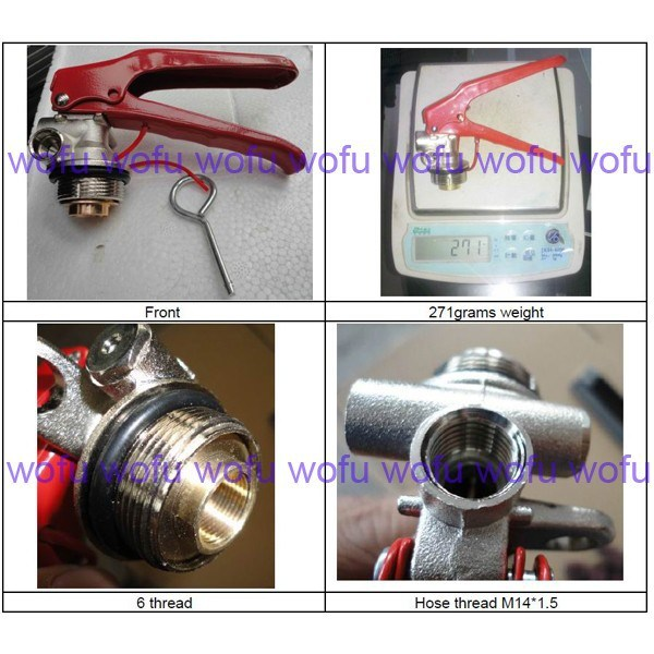 4-6-10kg ABC Fire Extinguisher Valve