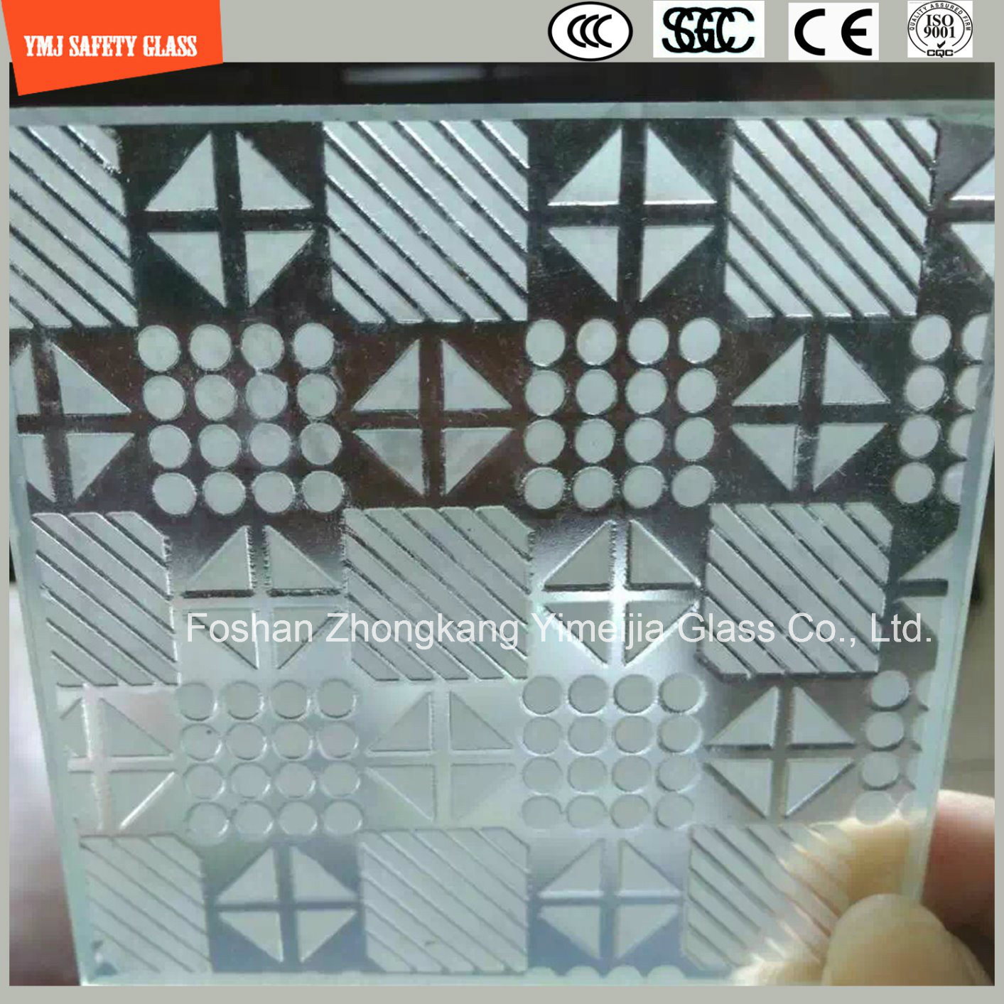 4-19mm Tempered Glass for Curtain Wall, Hotel, Construction, Shower, Green House