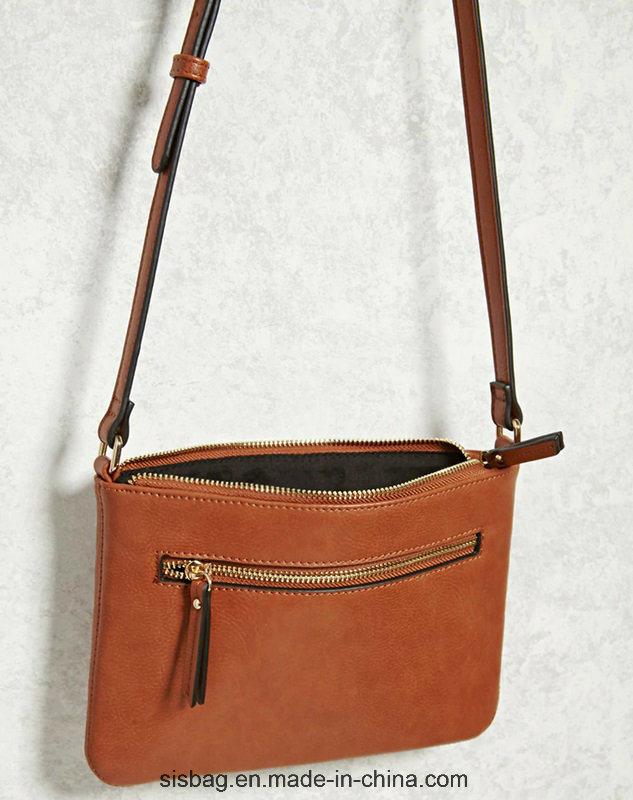 New Designer Tan Color Shoulder Bag Zip Crossbody Bag