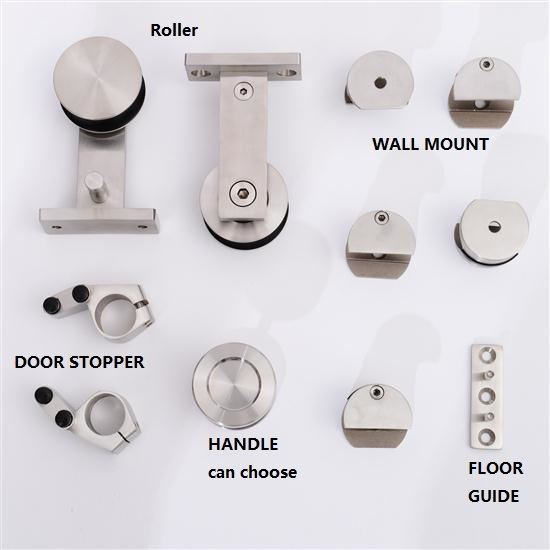 Stainless Steel 304 Sliding Barn Door Hardware