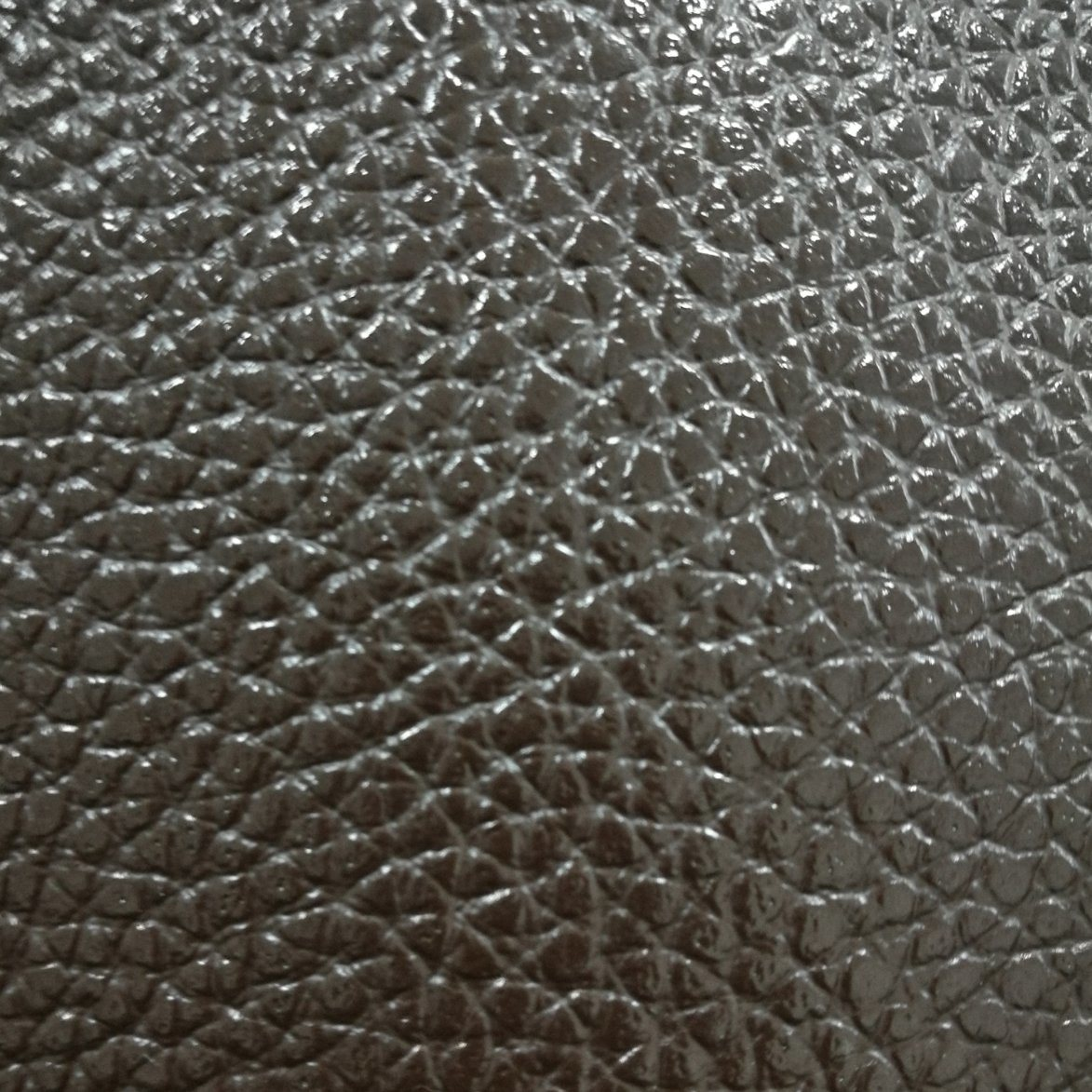 SGS Gold Certification Peng Ding Litchi Pattern PVC Artificial Leather Luggage Leather PVC Leather