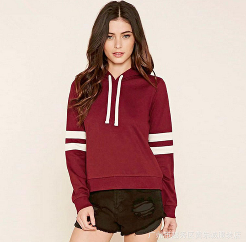 High Quality OEM Bulk Cotton Printing Casual Women′s Hoodie with Hat