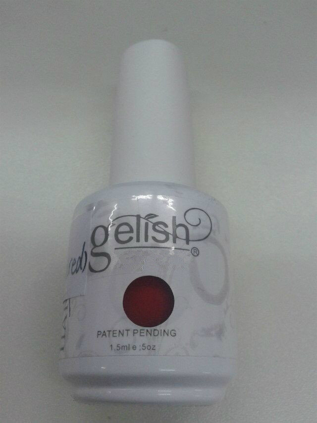 Nail Polish with Red Color