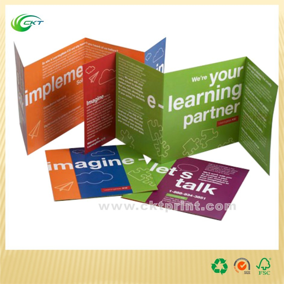 Commercial Glossy Lamination Catalog Printing in China (CKT- BK-292)