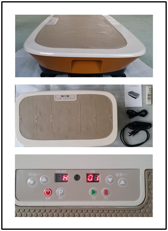 Zq-C9007 Power Fit Shake Massager Vibration Plate with CE Certification
