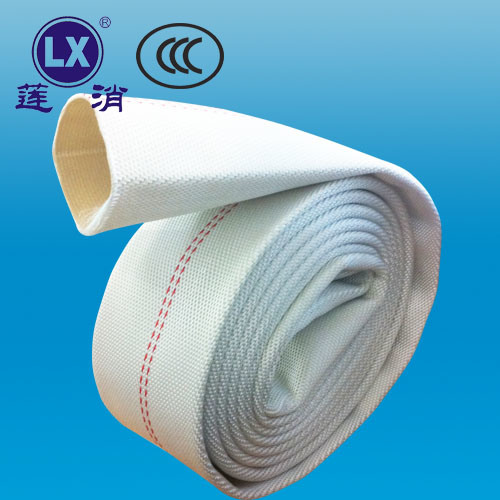 2.5 Inch High Pressure Flexible Fabric Rubber Fire Hose