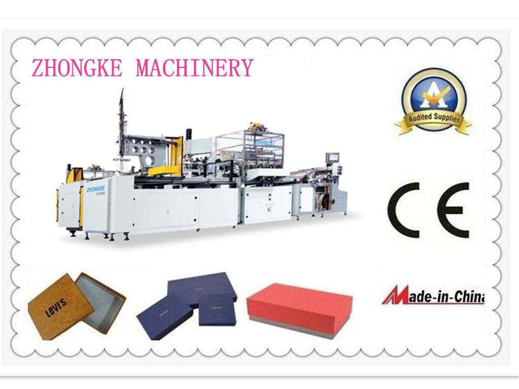 Box Maker From Zhongke Rigid Box Making Machine China