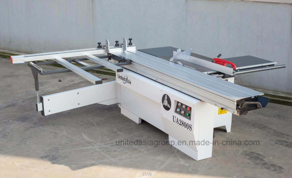 Precision Sliding Table Panel Saw with Degree Titling