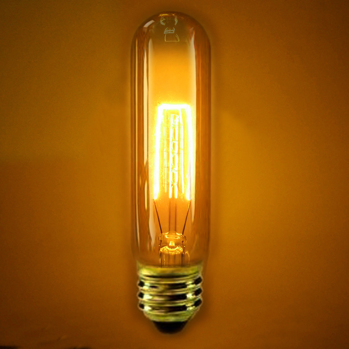 edison bulb vintage light bulb squirrel cage filament old fashioned. Black Bedroom Furniture Sets. Home Design Ideas