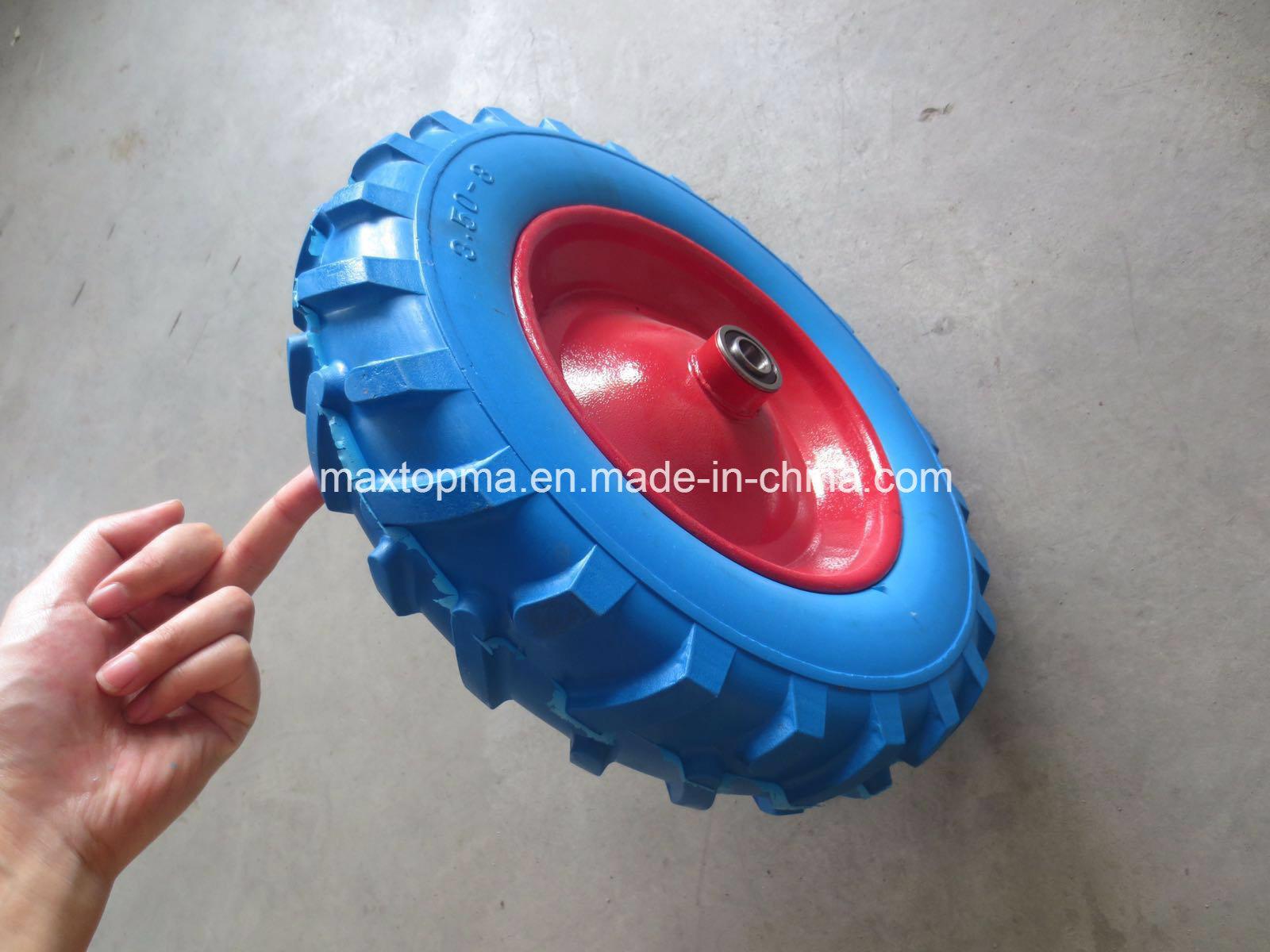 145/70-6 Flat Free PU Foam Wheel