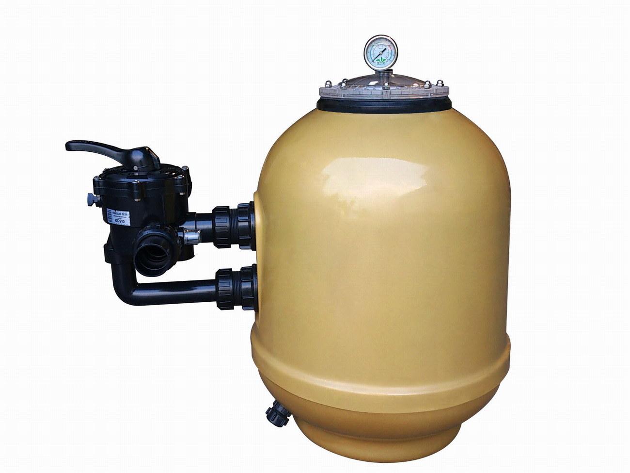 Fiberglass Laminated Sidemount Sand Filter (Bolt type) for Swimming Pool