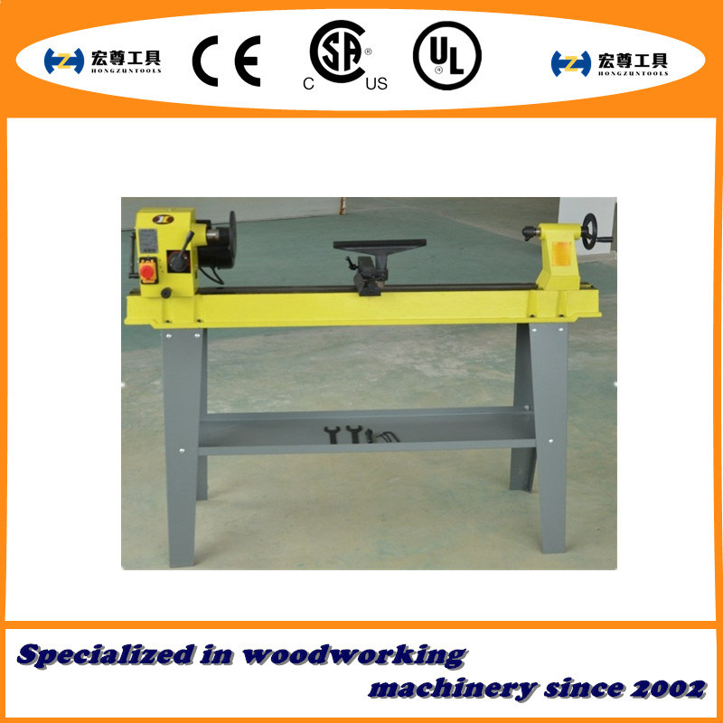 "14X43"" Variable Speed 750W Aluminum Motor Wood Lathe"