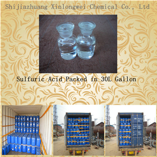Excellent Quality 98% Sulfuric Acid