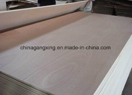 Okoume Plywood Sheets, Poplar Core E1 E0 Glue Commercial Plywood