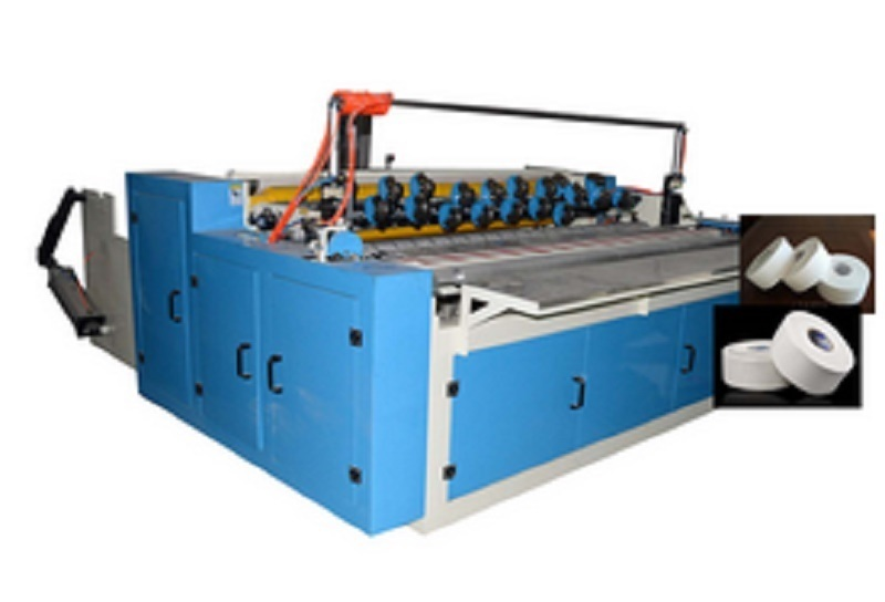 Industrial Roll Slitting Rewinder for Toilet Paper