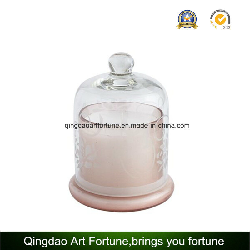 Scented Glass Candle Set for Promotion Valentine′s Day Decor