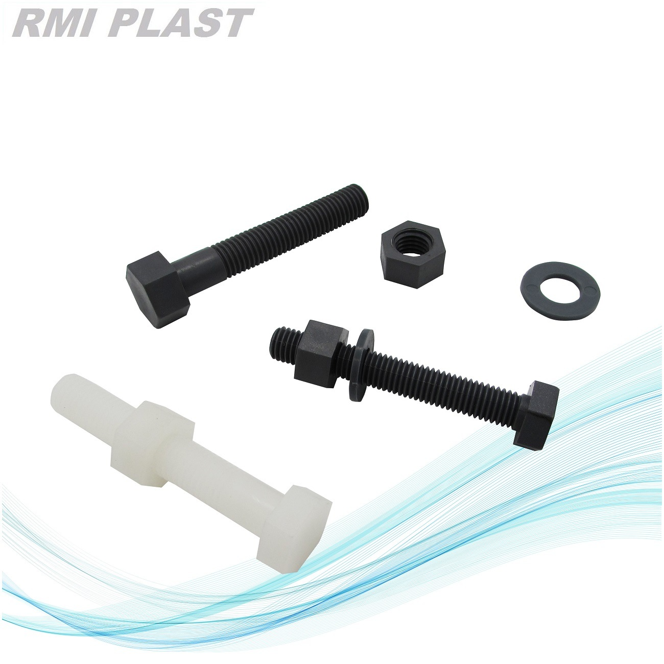 Plastic Fastener of Nylon Nut and Bolts