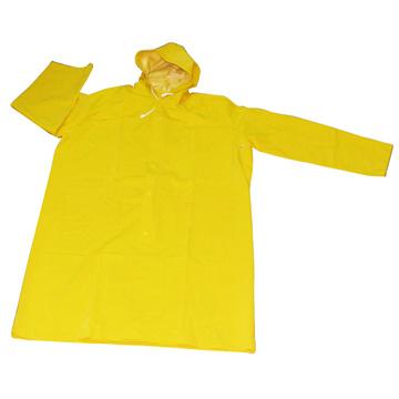 PVC/Polyester Long Rain Coat R9025