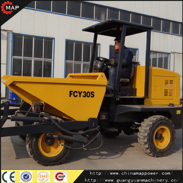 3tons Site Dumper with Self-Loading Optional