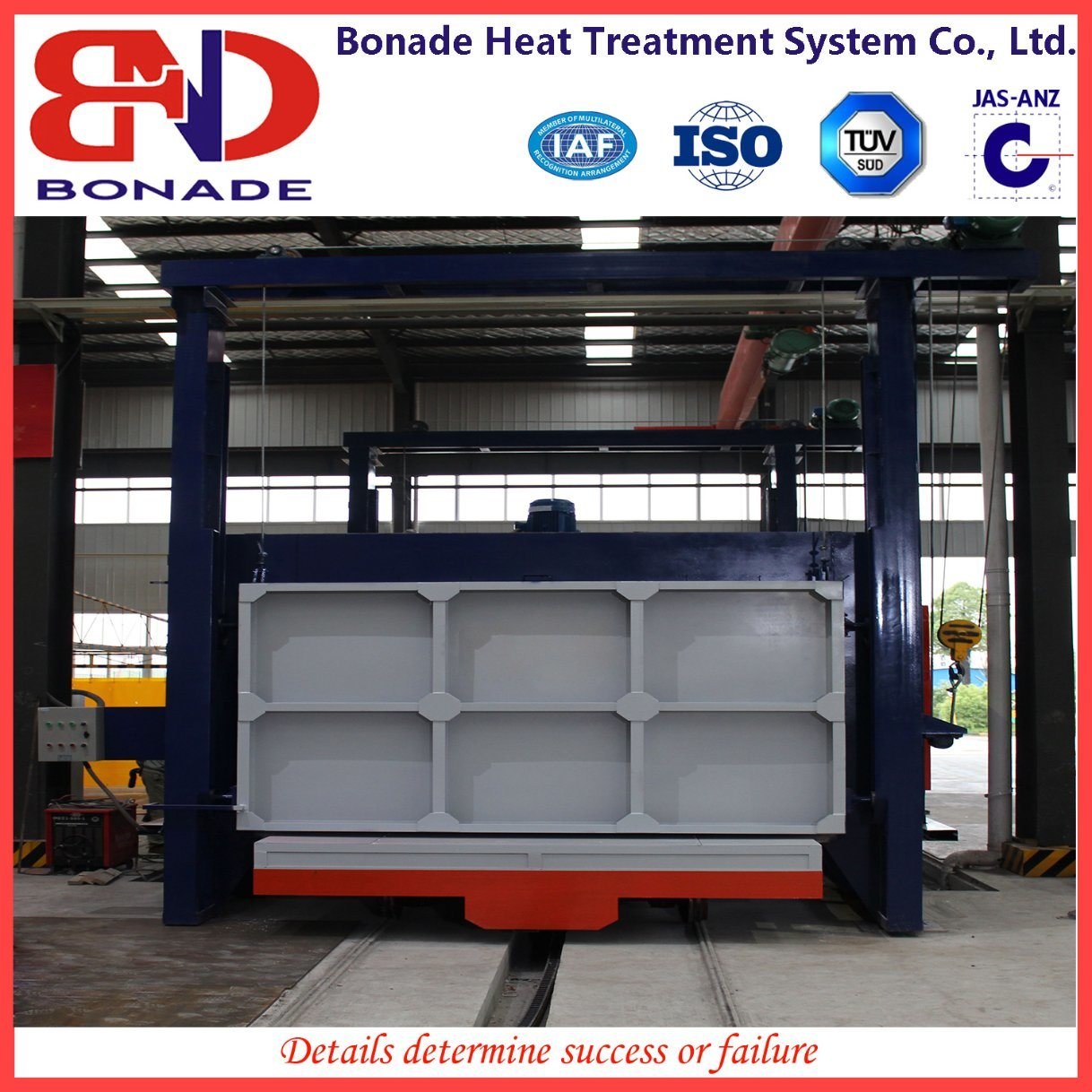 Car Bottom Heating Furnace for Annealing Furnace