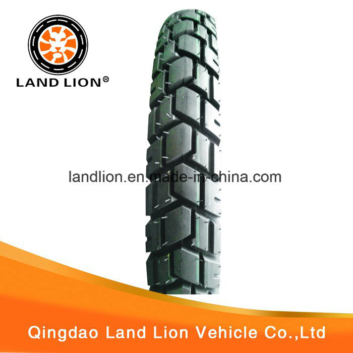 Land Lion Factory Manufacture Stone Pattern Tyre 3.50-18, 2.75-17