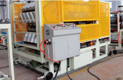 PVC+ASA/PMMA Roof Glaze Tile Production Line