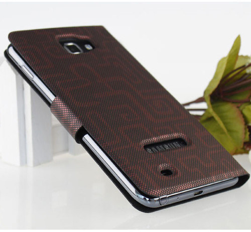 New-Leather-Cover-Case-for-Samsung-Galaxy-Note-I9220-N7000-Black-Red