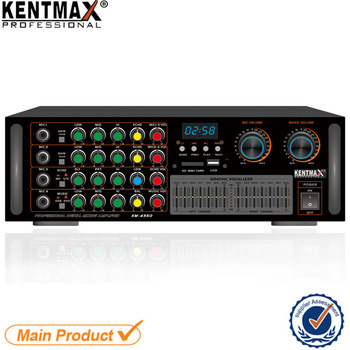 Km-4950 Big Discount Digital Stereo Echo Mixing Power Amplifier in Malaysia
