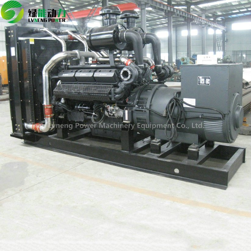 Power Plant Electric Turbine Diesel Generator with China Engine