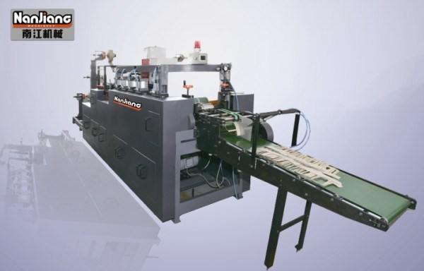 Right Angle Flat-belt Paper Handle Making Machine (WFD100-2)