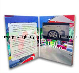 5inch LCD Screen Custom Printing Video Brochure