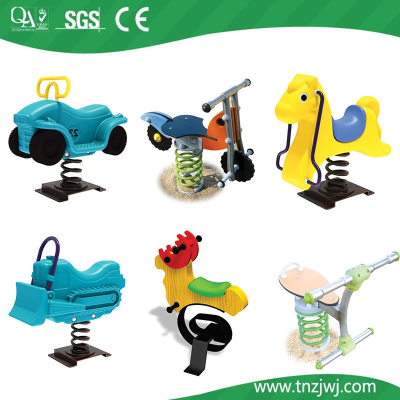 Amusement Park Plastic Spring Ride for Children