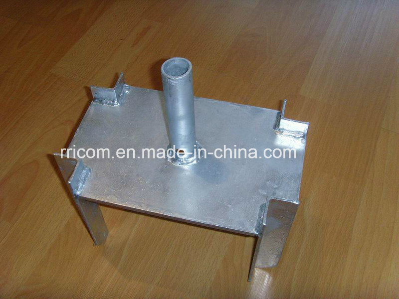 Galvanized Type of Scaffolding 4 Way U Fork Head for Construction