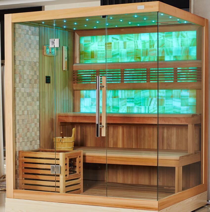 Monalisa New Fashion Design High Class Dry Sauna Room (M-6048)