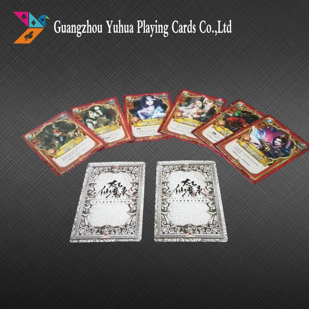 Los Juegos De Cartas Custom Playing Cards Game Cards