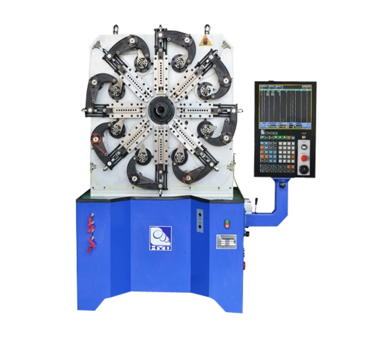 High-Speed Multi-Functional CNC Spring Forming Machine