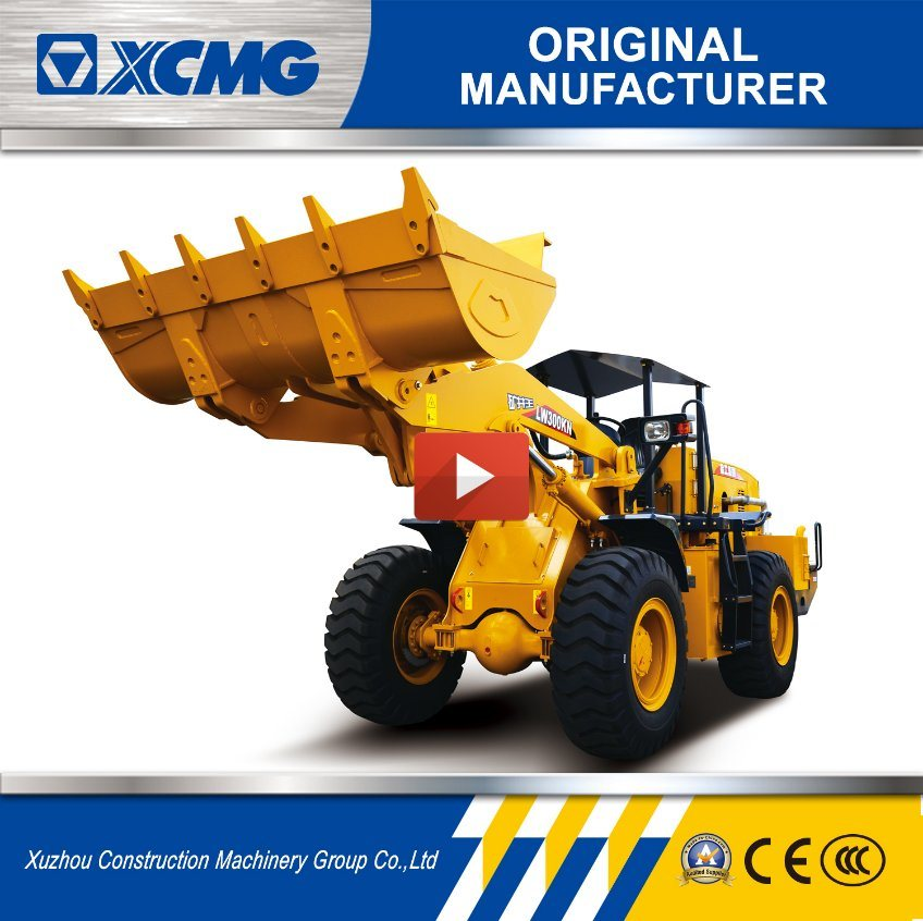 XCMG Official Manufacturer Lw300kn 3ton Mini Skip Wheel Loader Truck