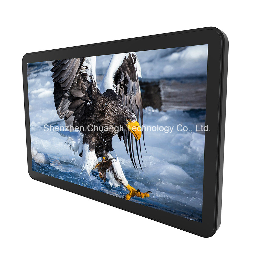 Waterproof 21.5 Inch Flat Capacitive Touch Screen LCD Monitor