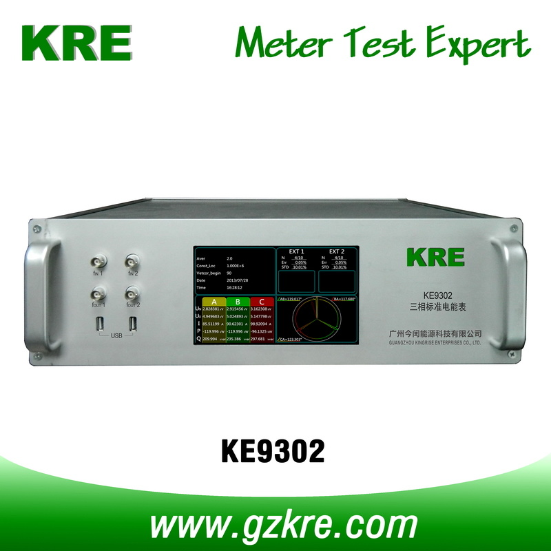 Class 0.05 120A 480V Three Phase Reference Standard Meter with Pulse Input