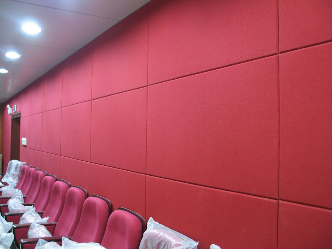 Wall Panels Product : China fiberglass acoustic wall panel for home decoration