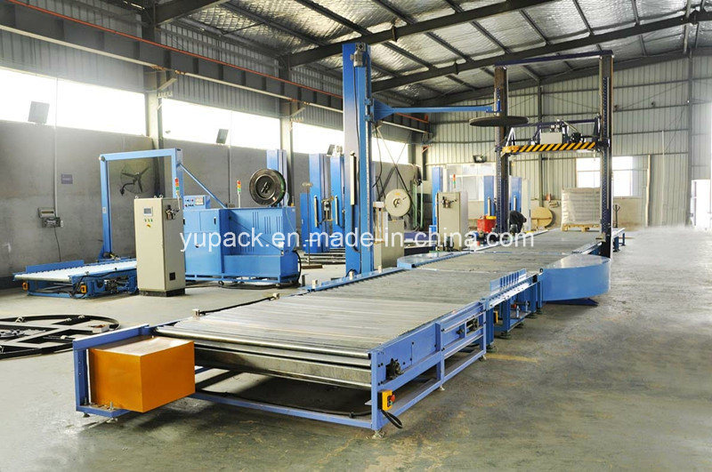 T1650fz-Pl Automatic Pallet Stretch Wrapping Machine / Packing Machine