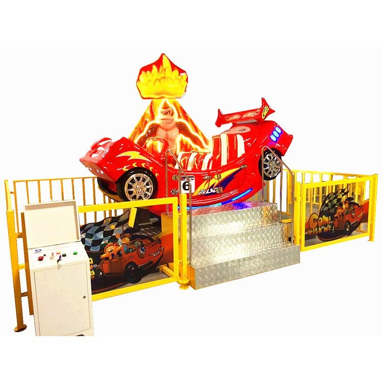 2017 New Design Playground Equipment Carousel Machine for Children Entertainment (D006)