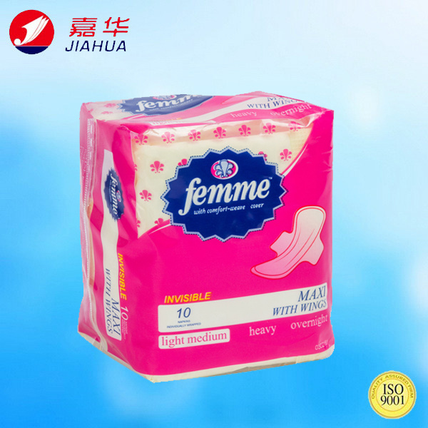New 240mm Day Use Woman Sanitary Pad