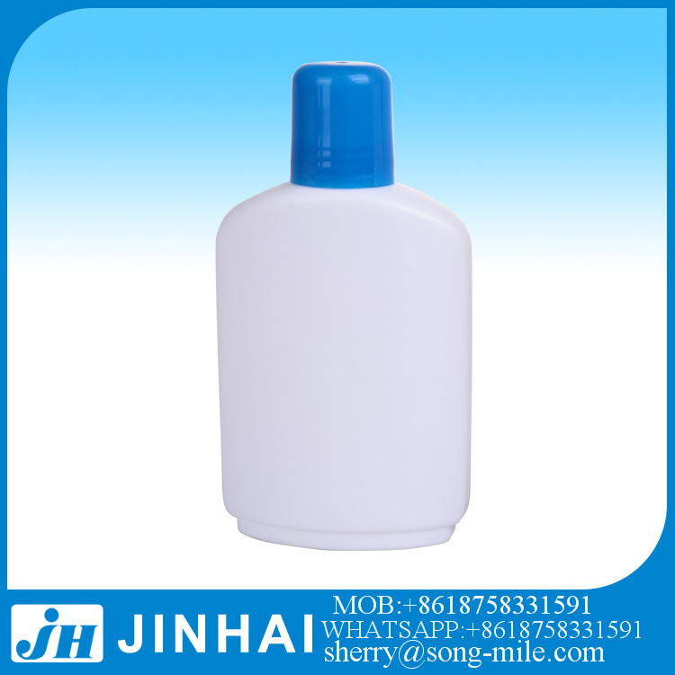 60ml Pet Plastic Fine Mist Sprayer Pump Blue Perfume Bottle