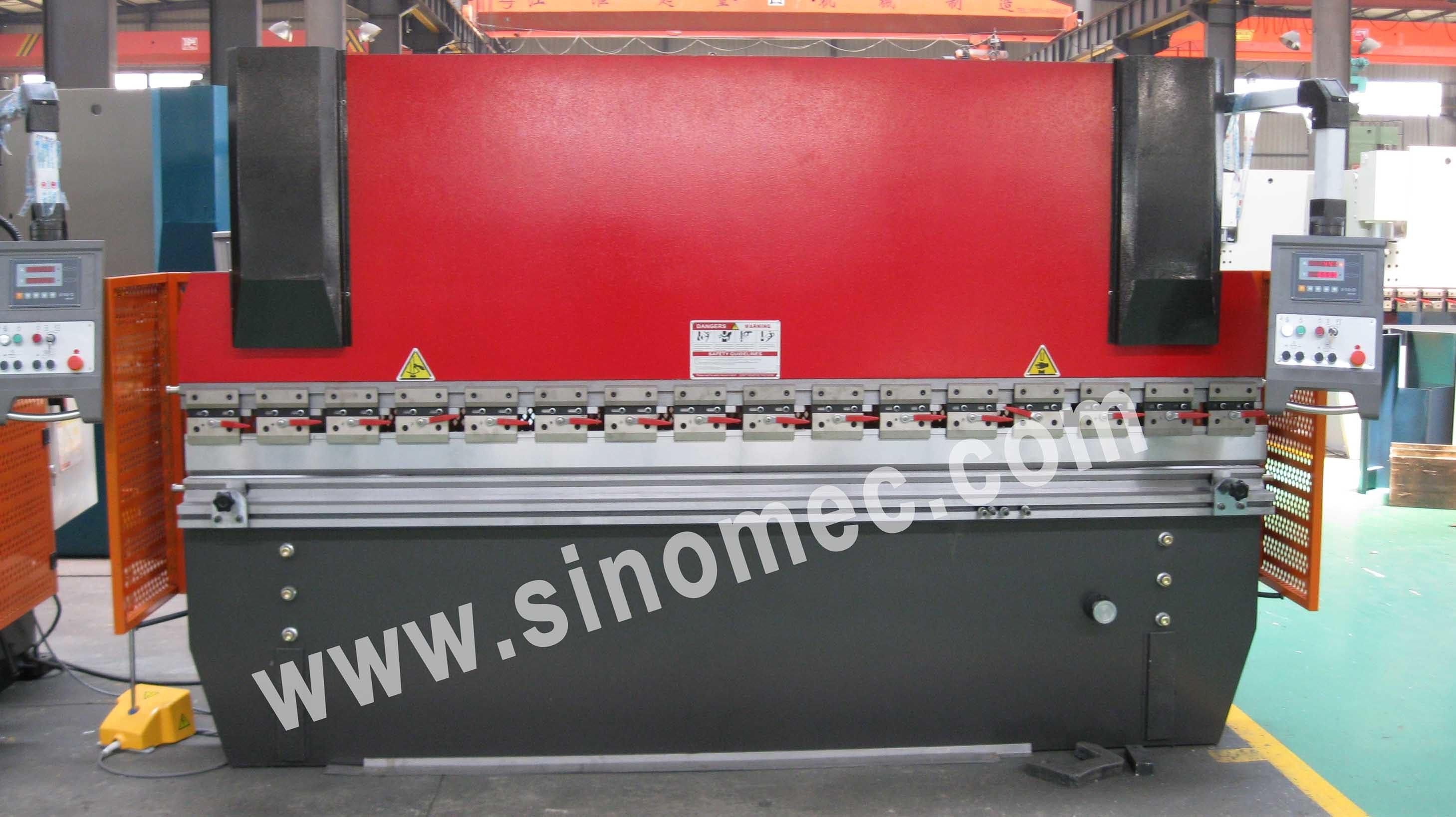 Wc67k-100t/3200 Press Brake Machine / Hydraulic Bending Machine